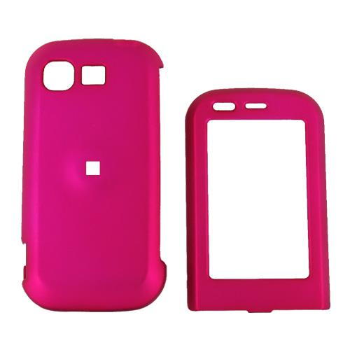 LG Tritan AX840 Rubberized Hard Case - Rose Pink