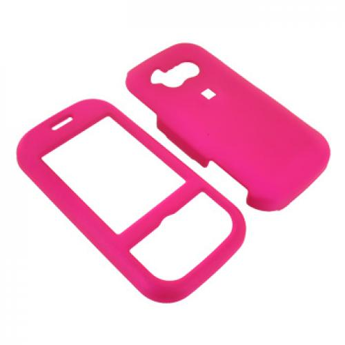 LG Neon GT365 Rubberized Hard Case - Hot Pink