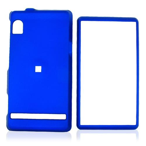 Motorola Droid A855 / Milestone Rubberized Hard Case - Blue