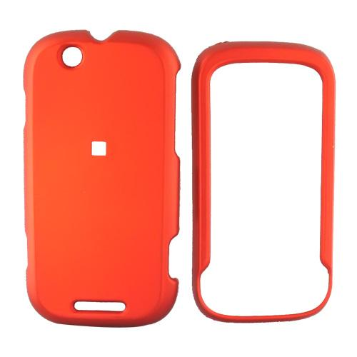 Motorola CLIQ Rubberized Hard Case - Orange