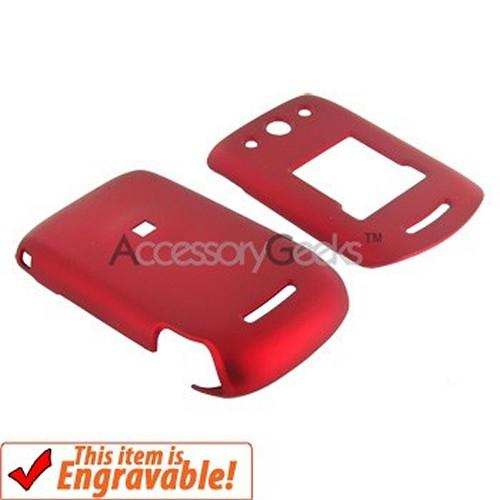 Motorola RPKR EM330 Rubberized Hard Case - Red