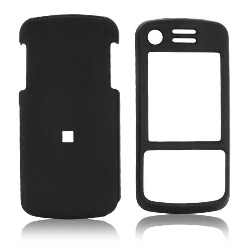 Motorola Debut i856 / Slider i856 Rubberized Hard Case - Black