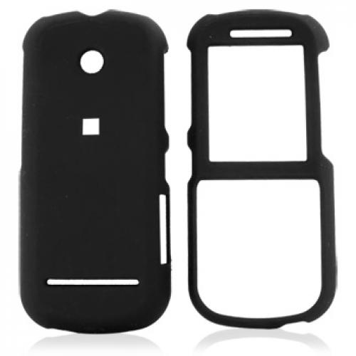 Motorola VE440 Rubberized Hard Case - Black