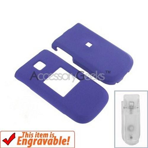 Nokia Mirage Rubberized Hard Case - Purple