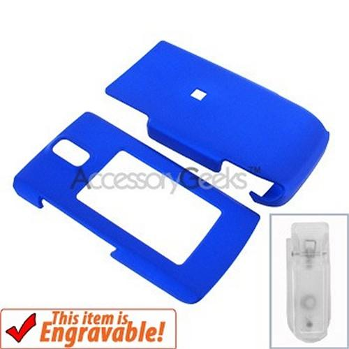 Nokia 6650 Rubberized Hard Case - Blue