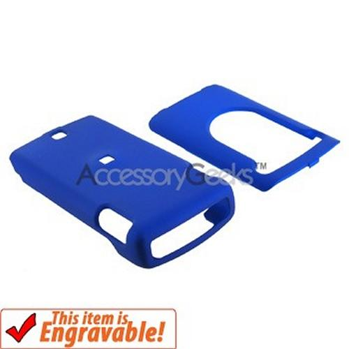 Nokia Mural 6750 Rubberized Hard Case - Blue