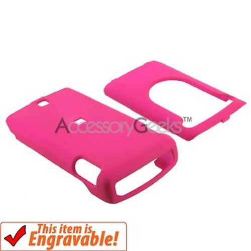 Nokia Mural 6750 Rubberized Hard Case - Hot Pink
