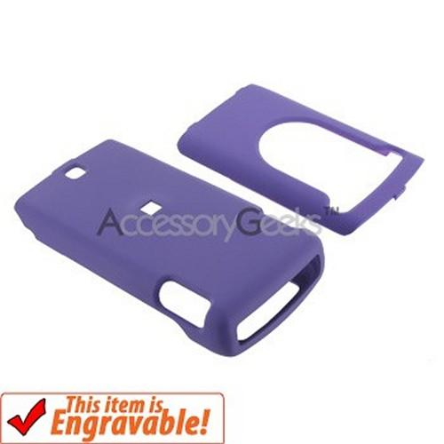 Nokia Grouper / Mural 6750 Rubberized Hard Case - Purple