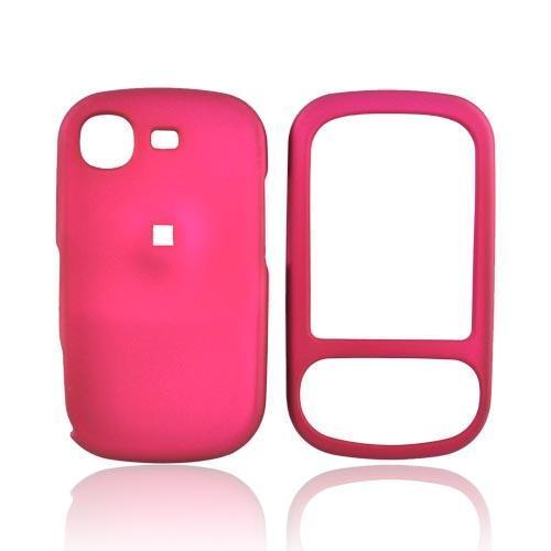 Samsung Strive A687 Rubberized Hard Case - Rose Pink