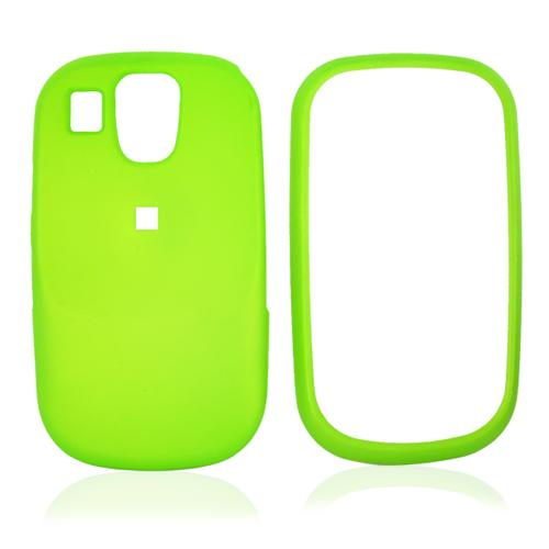 Samsung Flight A797 Rubberized Hard Case - Neon Green
