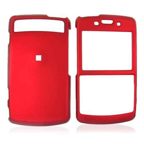 Samsung Intrepid i350 Rubberized Hard Case - Red