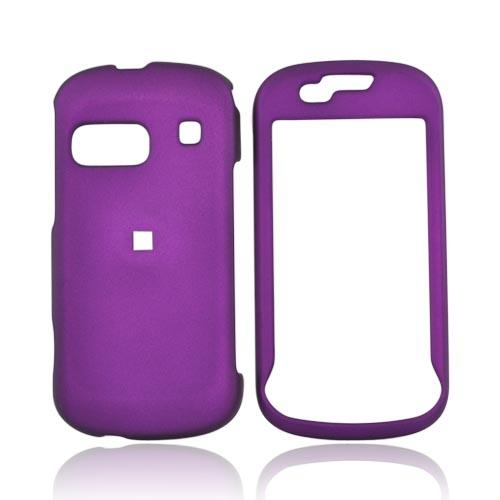 Samsung Craft R900 Rubberized Hard Case - Fushia