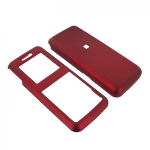 Samsung T119 Rubberized Hard Case - Red