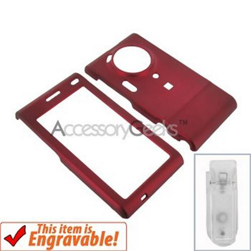 Samsung T929 Memoir Rubberized Hard Case - Red