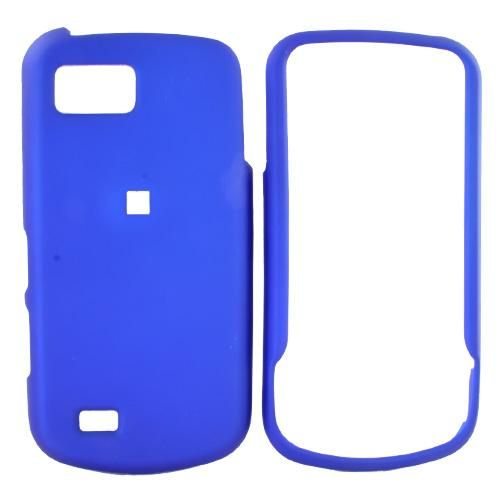 Samsung Behold 2 T939 Rubberized Hard Case - Blue