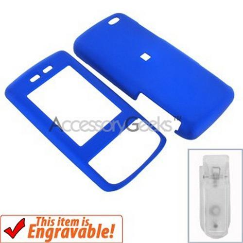 Verizon Samsung Sway Rubberized Hard Case - Blue
