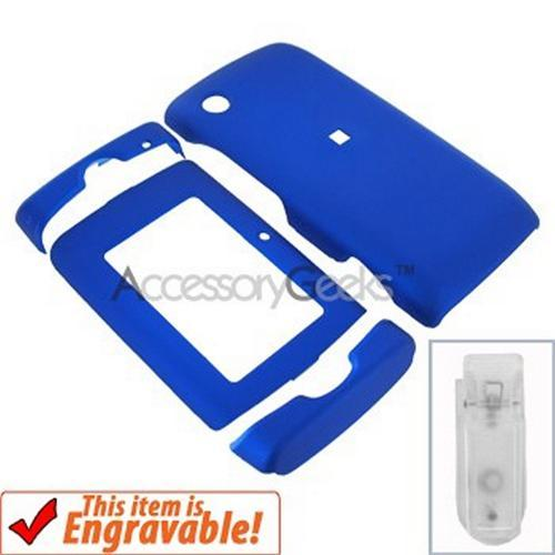 T-Mobile SideKick 4 2008 Rubberized Hard Case - Blue