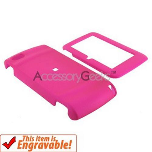 T-Mobile Sidekick LX2009 Rubberized Hard Case - Hot Pink