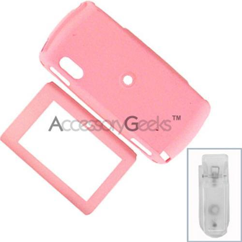 Sidekick LX Rubberized Hard Case - Baby Pink