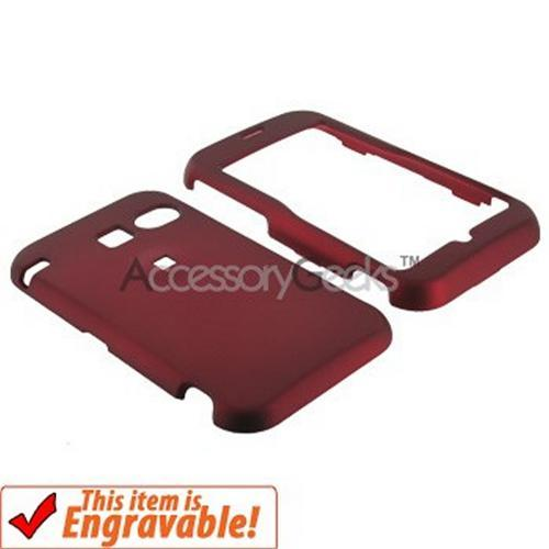 Sanyo 2700 Rubberized Hard Case - Red
