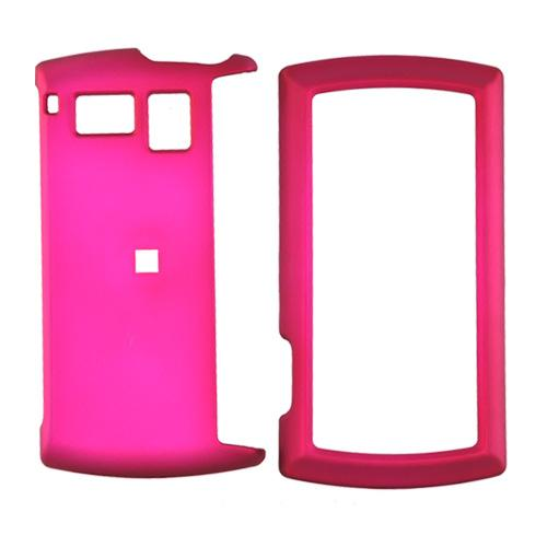 Sanyo Incognito 6760 Rubberized Hard Case - Rose Pink