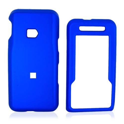 MetroPCS ZTE C70 Rubberized Hard Case - Blue