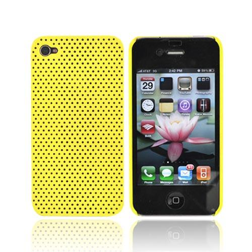 Apple iPhone 4 Back Cover Hard Case - Yellow