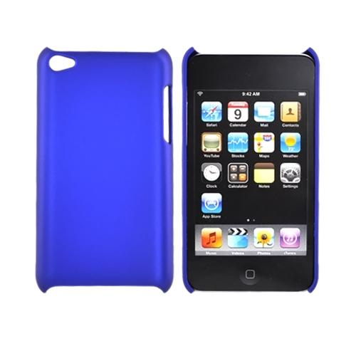 Luxmo Apple iPod Touch 4 Rubberized Back Cover - Blue