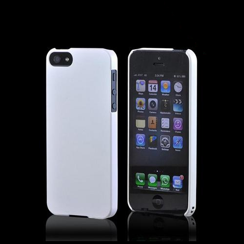 Premium High Impact Resistant Apple iPhone 5/5S Ultra Slim Rubberized Hard Case - Pearl Matte