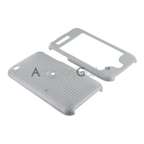 Apple iPhone 3Gs 3G Texture Hard Case - Silver