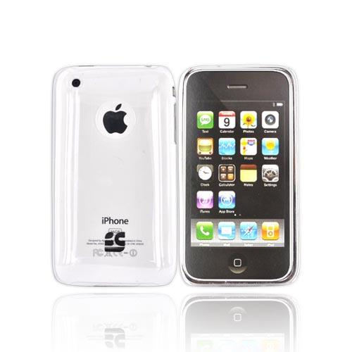 Apple iPhone 3GS 3G Ultra Thin Hard Back Cover Case - Transparent Clear
