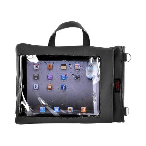 Original TurtleBack G-Mate Apple iPad (All Gen.) Genuine Leather Carry Case w/ Shoulder Strap - Black