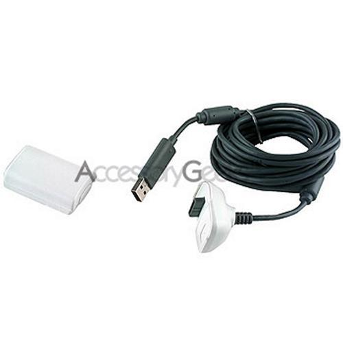 Xbox 360 Rechargeable Battery Pack with Cable