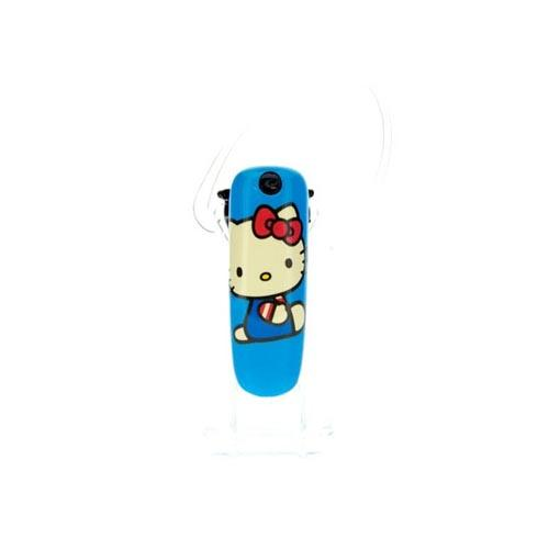 Original Earloomz Hello Kitty Universal Bluetooth Headset, GL-114 - Hello Kitty Portrait on Blue