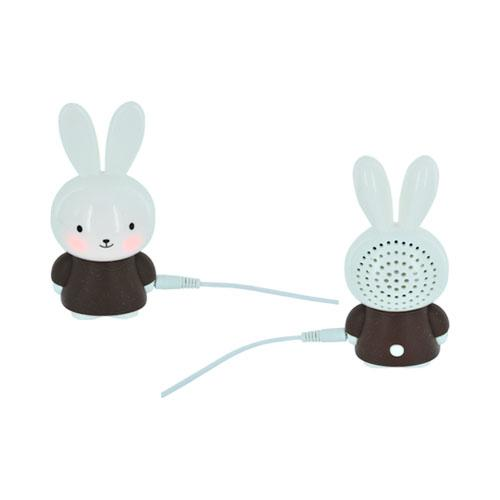 Universal Portable Bunny Speaker (3.5mm) - Brown