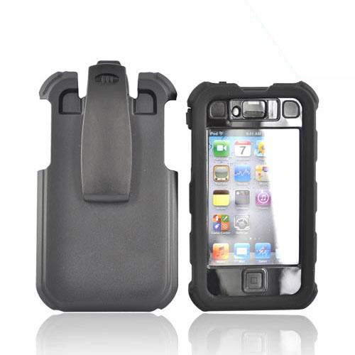 Original Ballistic Apple iPhone 4 HC Hard Case Combo w/ Holster, HA0421-M005 - Black