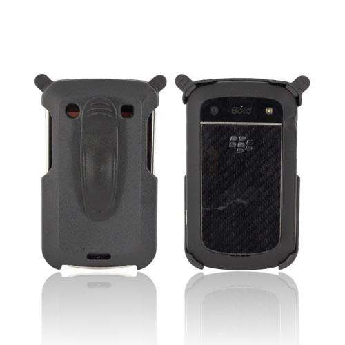 Blackberry Bold 9900, 9930 Holster w/ Swivel Belt Clip - Black