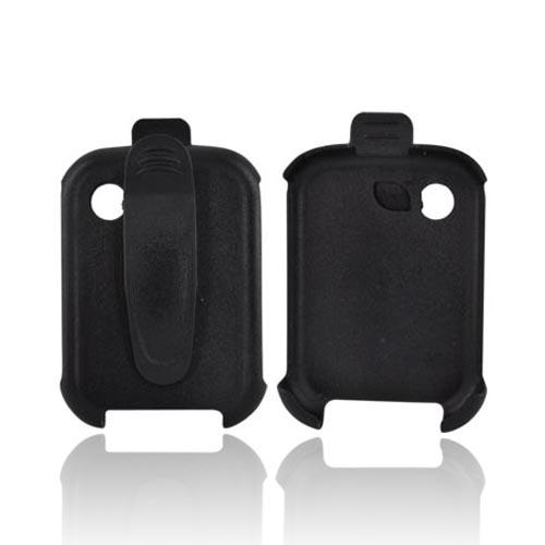 LG Remarq LN240 Holster Case w/ Swivel Clip - Black (Face Out)