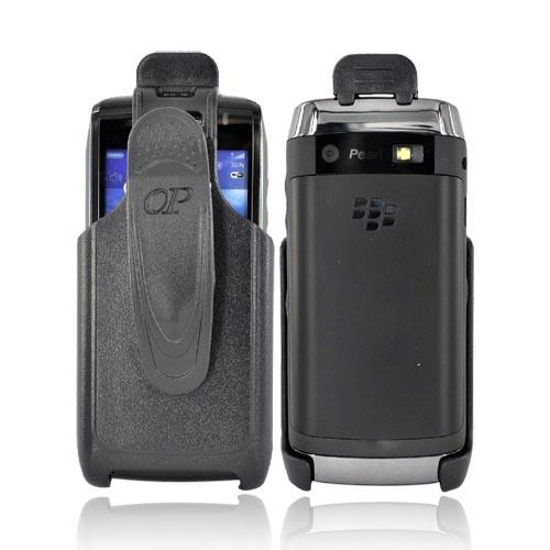Premium BlackBerry Pearl 3G 9100/9105 Holster W/ Swivel Belt Clip - Black