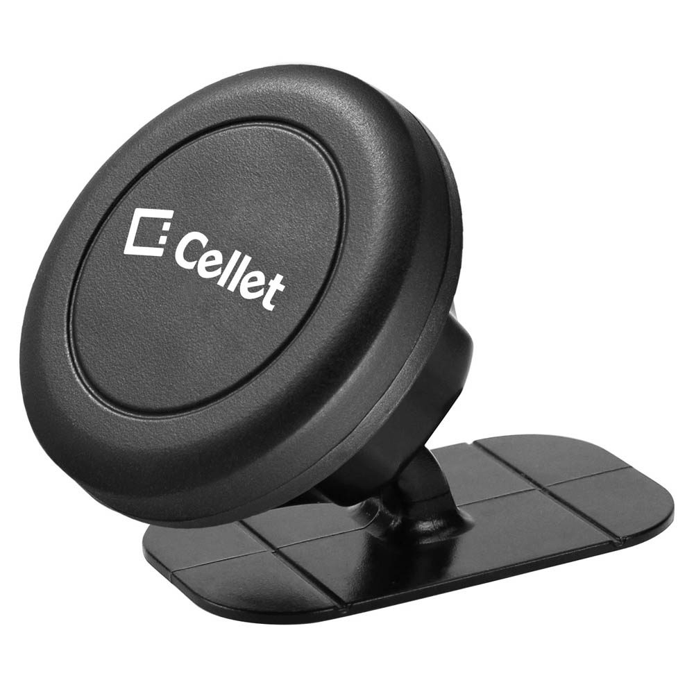 Glatt Black Universal Magnetic Suction Car Mount/ Holder for Phones/ MP3 Players