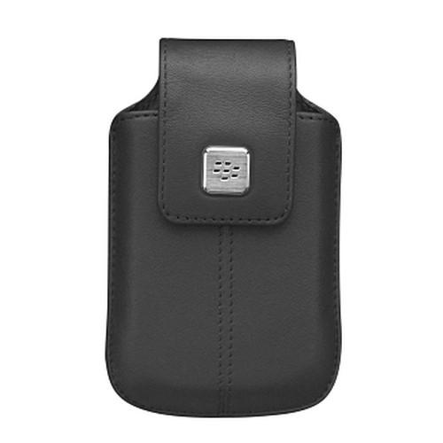 Original Blackberry Curve 8900 Leather Holster w/ Swivel Belt Clip - Espresso