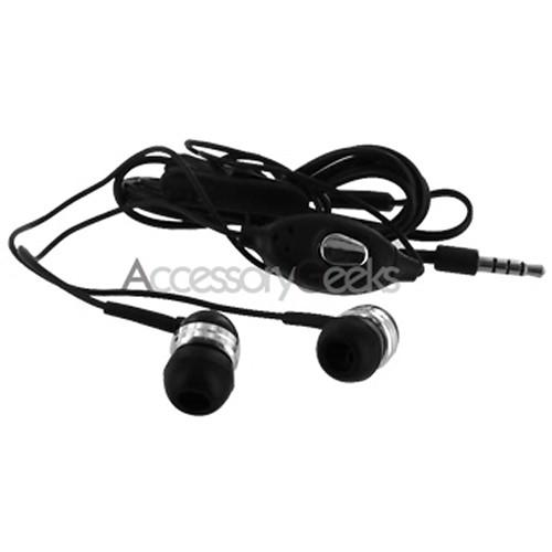 Universal Black Earbud Stereo Headset - 3.5mm