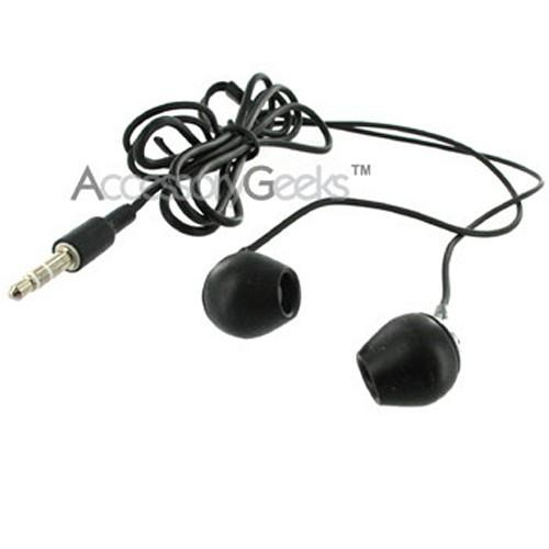 Creative Earbud Stereo Headset w/ Changeable Plates (3.5mm jack) - Black