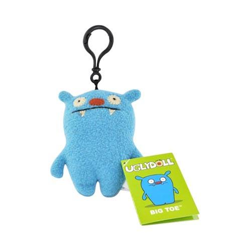 UGLYDOLL Plush Big Toe Clip On Charm Strap - Baby Blue