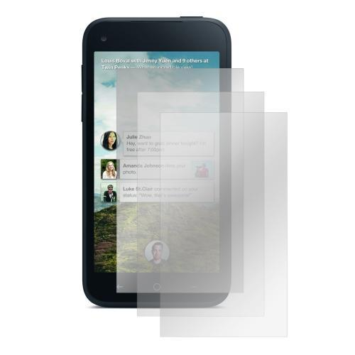 Screen Protector Medley w/ Regular, Anti-Glare, & Mirror Screen Protectors for HTC First