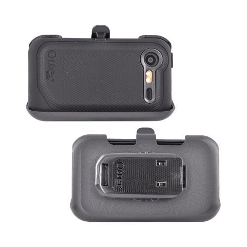 Original Otterbox HTC Droid Incredible 2 Defender Series Hard Case w/ Holster, HTC2-INCD2-20-E4OTR - Black