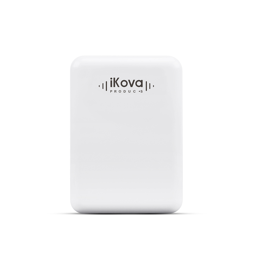 White iKova Universal 4 USB Port Wall Charger