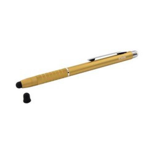 Original iClooly Universal Alumi Pen Stylus & Pen in 1 - Gold