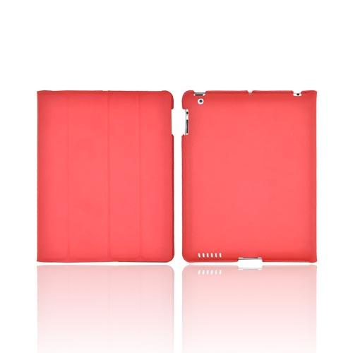 Original Hornettek Apple iPad 2 FlipIt Sleek Smart Cover Case/ Stand, IP2-HSL-RD - Really Red
