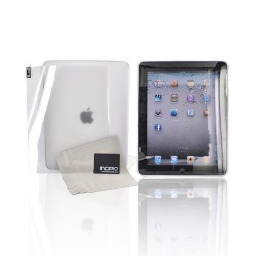 Original Incipio Feather iPad (1st Gen) Back Cover Case w/ Screen Protector, iPad (1st Gen)-118 - Frost White